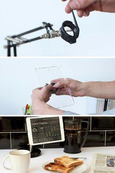 Sugru DIY tablet stand
