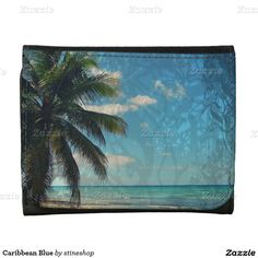Caribbean Blue Wallet