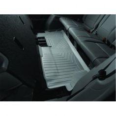 WeatherTech Custom Fit Rear FloorLiner for Select Honda Pilot Models (Grey) 2012 Honda Pilot, Rv Parts, Fit Car, Performance Parts, Motorcycle Accessories, Interior Accessories, Perfect Fit, Car Seats, Flooring