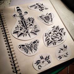 Old school Tattoo flash Pt. 2