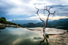 Hierve el Agua, Oaxaca, Mexico - Another one from Hierve el Agua