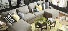 Sectionals | Fabric Seating