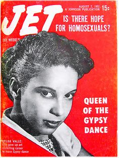 Queen of the Gypsy Dance Melba Valle - Jet Magazine, August 7, 1952