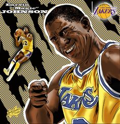 NBA Greats - Magic Johnson
