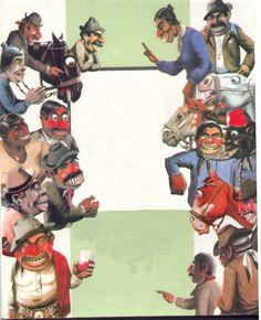personajes ( del libro de don luis landrisina cuentos )