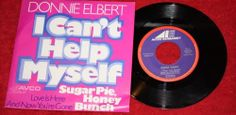 "DONNIE ELBERT + I can't help myself  - Vinyl 7"" Single - AVCO Embassy"
