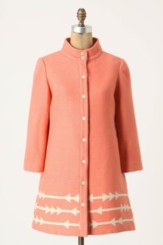 Lauren Moffatt Eastward Dress Coat.. love the color and its very mod feel