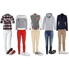 One direction outfits! For real, these are actually really cute. I'd totally wear them!!! :)