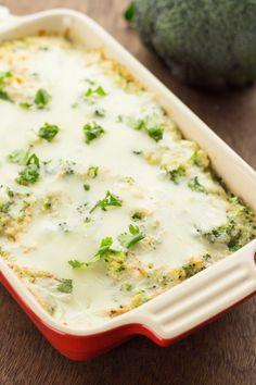 Broccoli Chicken Quinoa Casserole with a Cauliflower Sauce (+Video) » The Table