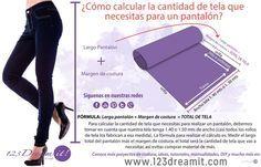123 Dream it Sewing Pants, Sewing Clothes, Diy Clothes, Sewing Tools, Sewing Tutorials, Sewing Projects, Embroidery Patterns, Sewing Patterns, Diy Shorts