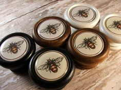 Queen Bee Decorative Knobs, Pulls, Handles...Price Is For 1 Knob
