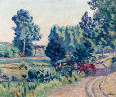 """guillaumin armand the outskirts of saint cheron 1901 sotheby (from <a href=""""http://www.oldpainters.org/picture.php?/26911/category/10506""""></a>)"""