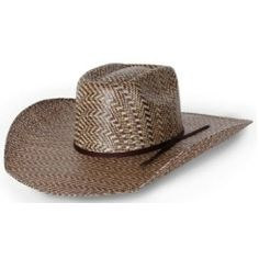 Add some style and flair to your straw hat! Rodeo King Rio Hereford 3 Tone 42c2468d10f7