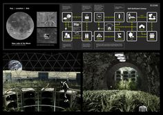 LUNAR OASIS: Where Space Becomes Place - Nine lunar habitat proposals win in Moontopia competition
