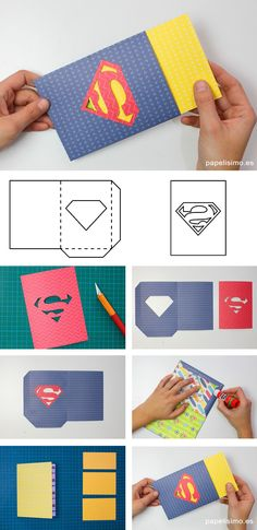 Idee Cadeau Fete Des Peres 2019 – for all children your pa … – Gift Ideas Diy Crafts To Sell, Diy Crafts For Kids, Logo Superman, Daddy Day, Fathers Day Crafts, Pop Up Cards, Diy Cards, Invitation Cards, Diy Gifts