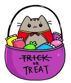 Trick Or Treat Pusheen