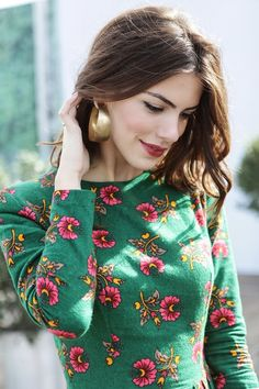 #floral #beauty #gold