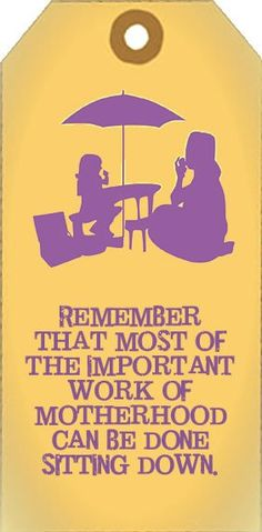 """Most important work of being a mom can be done sitting down. Moms with chronic illness need to remember this so badly! if you are wondering if you should be a mom (because you are chronically ill) check out Lisa Copen's new book """"Should I Have a Baby if I am Chronically Ill? The Ultimate Guide of Questions to Ask Yourself, Your Spouse, and Your Medical Team"""" [Kindle Edition] - over 400 questions"""