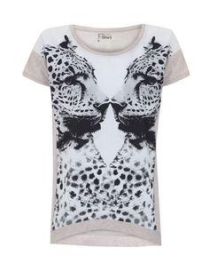 T-Shirt Print Leopardo  Ref:132206901  € 17,99