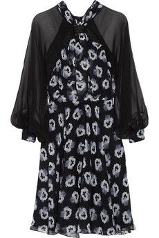 Prabal Gurung Floral-print silk-chiffon dress | Now we can all look like Kerry Washington.