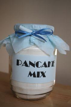 Cadeaux gourmands : pancake mix - Chez Requia, Cuisine et confidences ...