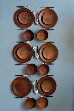 Teak Plates | Haenia | c1960: