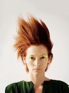 Tilda Swinton by Bryan Adams Photography