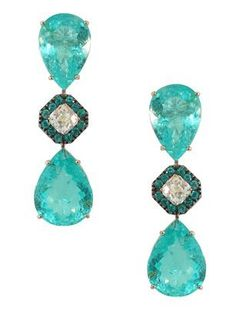 Silvia Furmanovich - Paraiba tourmaline earrings