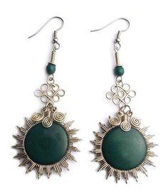 Sun - Green – Wari Designs