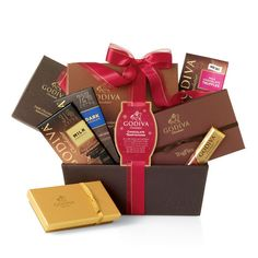 Chocolate Temptations Gift Basket #GODIVA ($135.00)