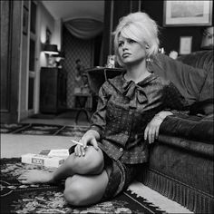 Brigitte Bardot #41 by What Makes The Pie Shops Tick?, via Flickr