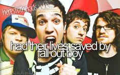 not saved, but made my life much more awesome <3