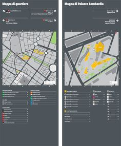 Portfolio - Project - Regione Lombardia wayfinding totem | LS graphic design