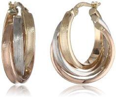 Gold Hoop Earrings, Gold Hoops, Bridal Earrings, Gold Jewelry, Gems, Bling, Jewels, Stuff To Buy, Accessories