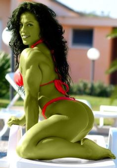 She-Hulk Cosplay