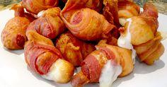 Bomba de Queijo e Bacon: