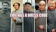 Evil has a dress code!! #CrookedHillary