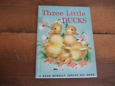 Three Little Ducks Junior Elf Book by jessamyjay on Etsy
