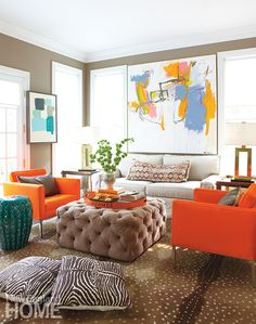 In Living Color: A Connecticut Artist Makes Her Home Her Canvas   New England Home Magazine
