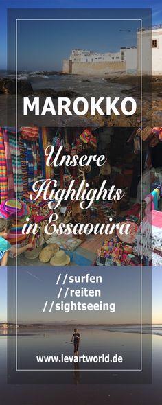 Tipps und Sehenswürdigkeiten in Essaouira – Marokko mit Kind Auf unsere Reise nach Marokko habe ich mich schon sehr gefreut. Es war unser erstes Sonnenziel dieses Jahr und ich war noch nie in Marokko. Wir wollten surfen und so habe ich mich für eine Stadt am Meer entschieden. Esaouira gehört zu einem der schönsten Hafenstädte Marokkos und ist der Stadtname mit den meisten Vokalen am Stück, den ich bis jetzt zu Ohren bekommen habe. Wenn bei uns der Herbst anbricht, ist es in Marokko noch…