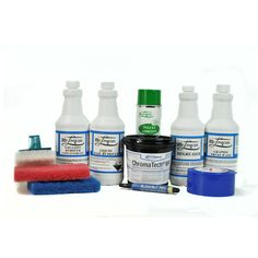 All your screen printing chemicals in one easy kit!  Mclogan Screen Printing Chemical Kit.