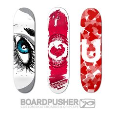 BoardPusher Custom Skateboards