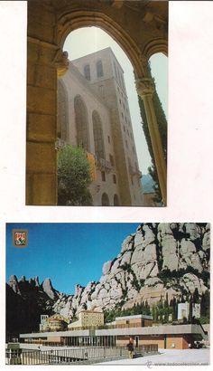 Montserrat Vistas de la Iglesia y del Restaurante. Sin circular.