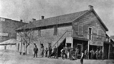 The Old Grout :: Boarding house in Fort Collins, Larimer County, Colorado, 1862