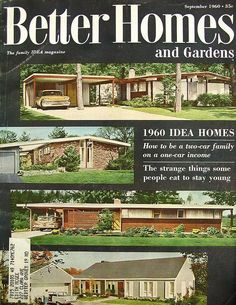 Buses electric and trouser suits on pinterest Better homes and gardens current issue