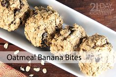 These muffin-like bites use only pureed banana as a sweetener, have no added oil, and use whole-grain oats and oat flour. Added plus: They can be prepped in just minutes!