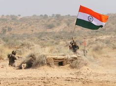 Indian army soldiers from 5 Assam Battalion hold the Indian national flag after capturing enemy bunkers during the Indian Army Exercise Sudarshan Shakti in Barmer distrcit in Rajasthan on December Get premium, high resolution news photos at Getty Images National Flag India, Indian Flag Images, Indian Army Special Forces, Indian Army Wallpapers, Indian Army Quotes, Image 3d, Best Background Images, News Around The World, Fight For You