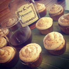 Follow this lady Alcohol infused cupcakes IG: @memobakescupcakes #MyCousinIsABeast