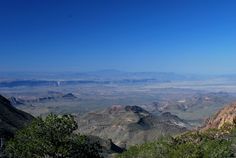 South Rim, Chisos Mountains. Big Bend National Park. Photography by: Tim Speer