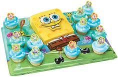 SpongeBob Cupcake Platter